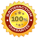 100 customer satisfaction guarantee