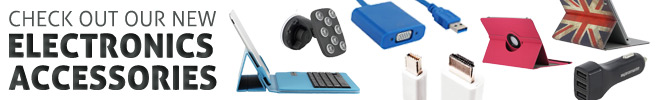 Check Out Our New Electronics Accessories