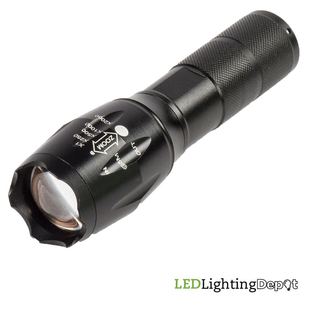 Led Flashlight With Adjustable Lens And Strobe Sos Functions Ll Af Light 01zm