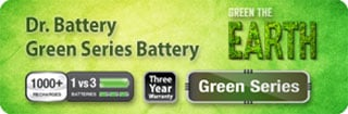 Dr. Battery Green Battery