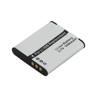 Replacement Digital Camera Battery for Olympus Stylus 1030 SW Li-50B 3.7 Volt Li-ion Digital Camera Battery (925mAh)